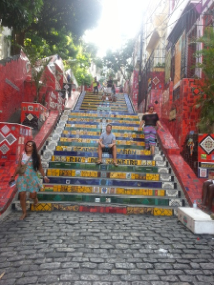 lapa stairs
