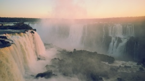 Waterfalls Sunset 2