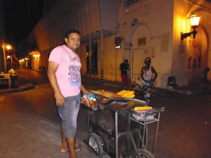 Streetfood Cartagena Colombia
