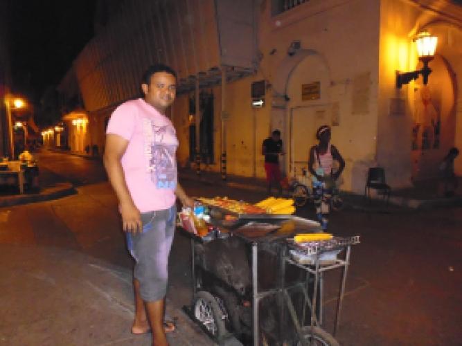 Streetfood Cartagena Colombia